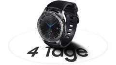 Samsung Smartwatch Gear S3 Classic Sm R770nzsaato Mediamarkt Silver Tagelang Aktiv Auch Ohne Aufladen