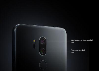 Vr Brille Lg G7 : Lg g thinq smartphone gb new aurora black kaufen saturn