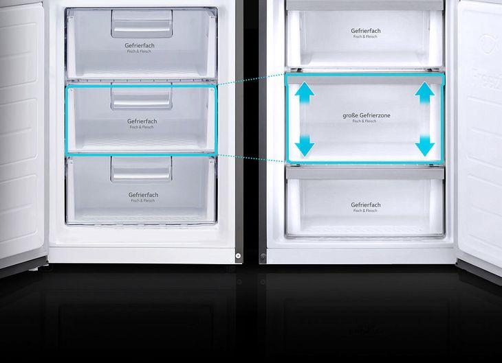 Lg Side By Side Kühlschrank Zieht Kein Wasser : Lg gbb pzpfs kühlgefrierkombination in edelstahl kaufen saturn