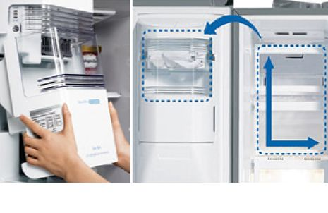 Kleiner Lg Kühlschrank : Lg gsp pvyz spektrum a d a side by side in edelstahl
