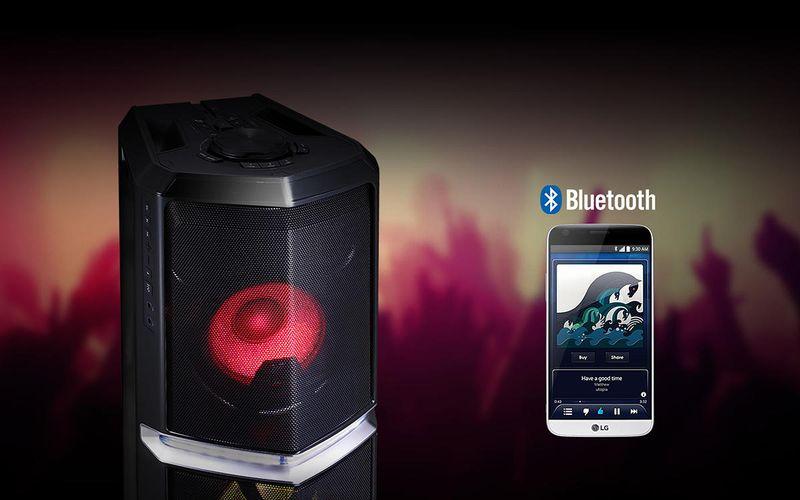 41d0f19f9fb3 Даже если LG XBOOM FH6 находится в режиме сна, просто начните трансляцию  музыки из Вашего смартфона по каналу ...