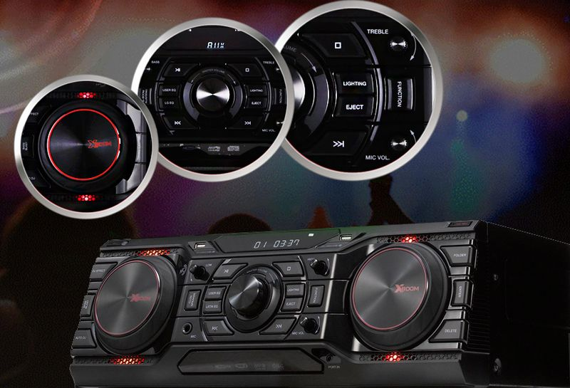 0cc2b2077b6b Музыкальный центр XBoom CM9750 - купить музыкальный центр LG XBoom ...